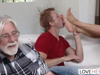 ariella ferrara cum on feet gameday private  tube