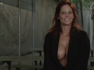 syren de mer - big tit milf takes two cocks in her ass private  tube