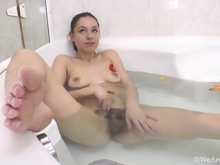 canella - blue lingerie bath shower private  tube
